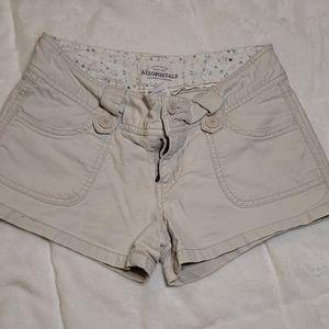 Aeropostale Tan Shorts Size 0